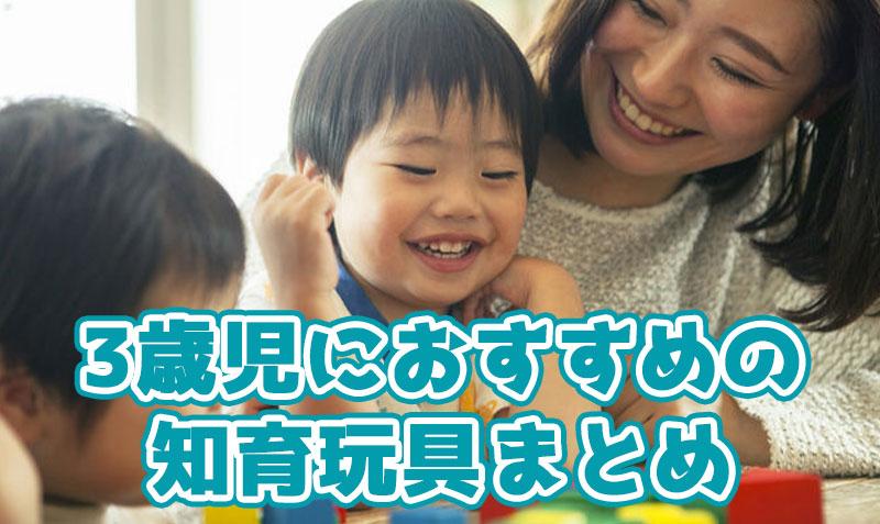 3歳におすすめの知育玩具おすすめランキング!