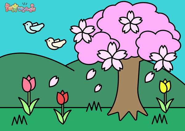 植物塗り絵2